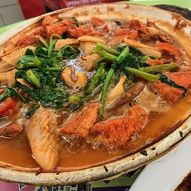 Loh Kai Yik, a traditional long-lost Cantonese dish which is one of the Peranakan's favourites.