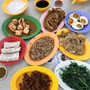 Simple Teochew Porridge.