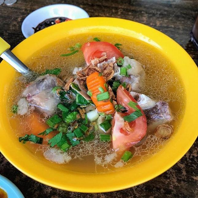Oxtail Soup aka Sup Buntut.
