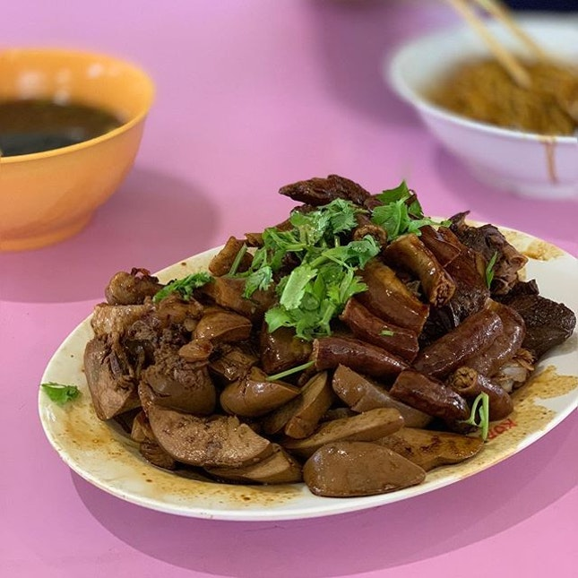 Teochew Braised Duck and Spare Parts.