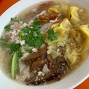 Kway Teow Soup for breakfast.