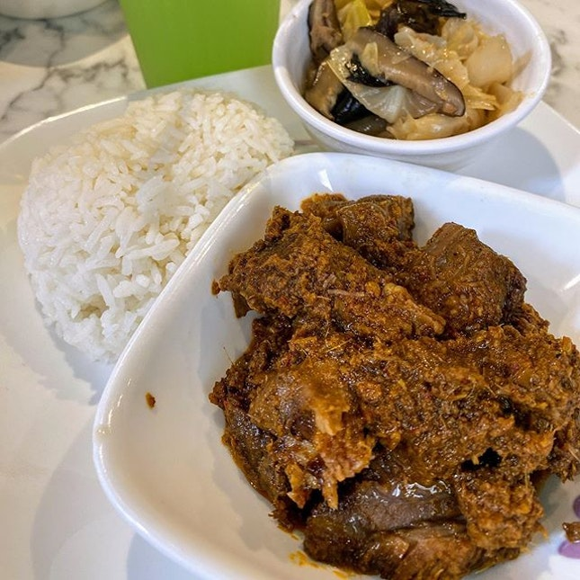 Penarakan Beef Rendang with Chap Chai is heaven sent.