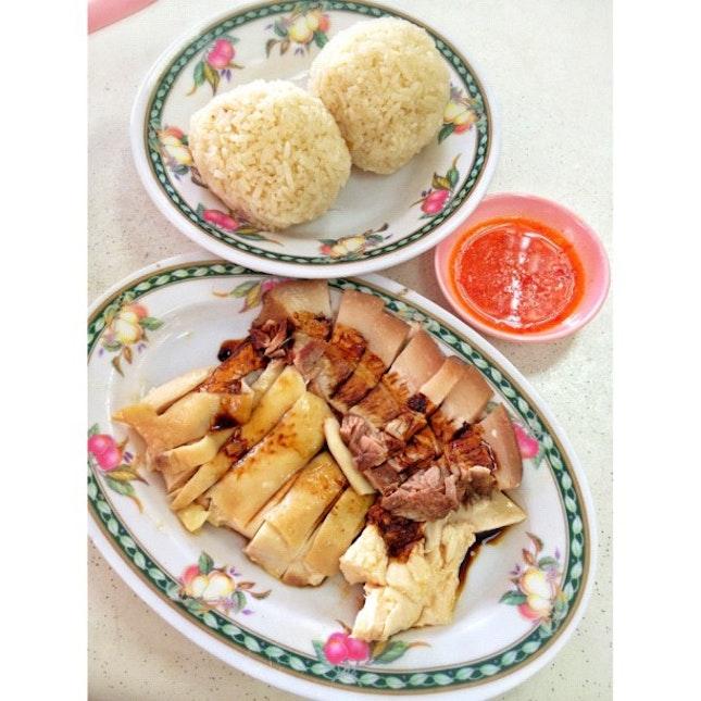 Chicken & Kong Bak With Chicken Rice Balls
