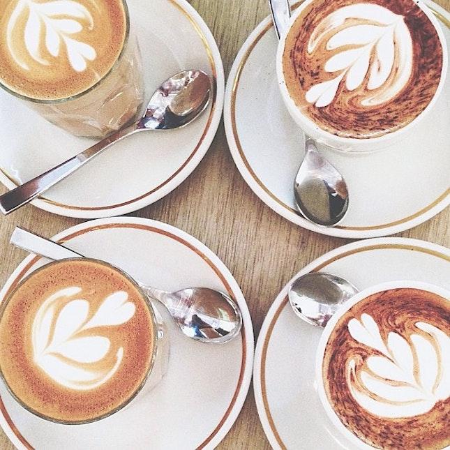Saturday mandatory coffee.