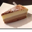 Triple Chocolate Crepe Cake