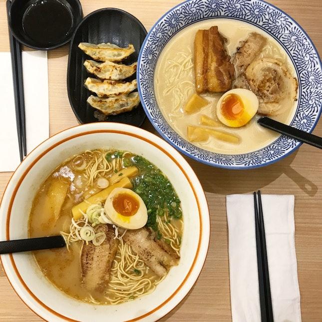 Uobushi Tonkutsu - Toroniku (white bowl).
