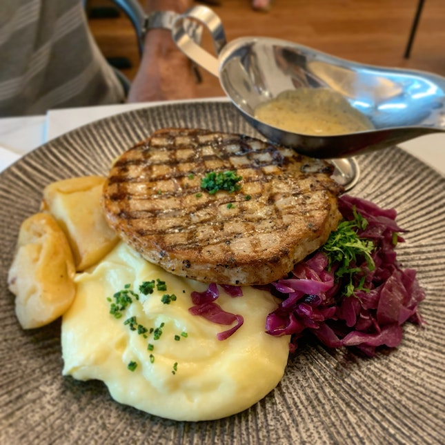 Grilled Pork Chop ($24)