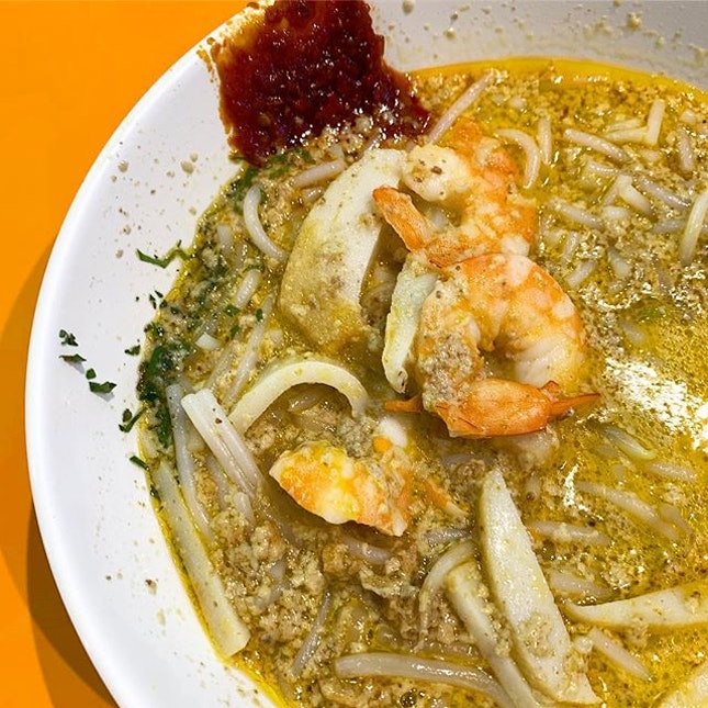 Original Katong Spoon Laksa _ All time favourite.