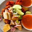 Indian Rojak _ Once a popular stall at Waterloo Street relocated to West Coast.