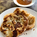 Crispy Prata _ Mr & Mrs Mohgan Prata still command a premium and arguably the best crispy prata in town.