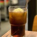 Root Beer Float _ Much needed in a hot afternoon _ #sqtop_cafe #FoodinSingapore  #WhatMakesSG  #PassionMadePossible #STFoodTrending  #SGCuisine  #wheretoeatsg #eatmoresg  #burpple #burpplesg  #burpplebeyond