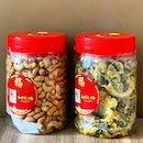 CNY Goodies from KEK Seafood AV @kengengkee & Wok in Burger @wokinburger  _ Cashew nuts $28.