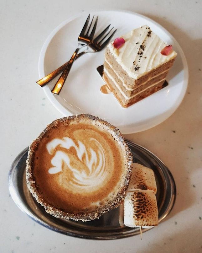 Smores Coffee Latte For This Festive Season🎄🎅❄⛄