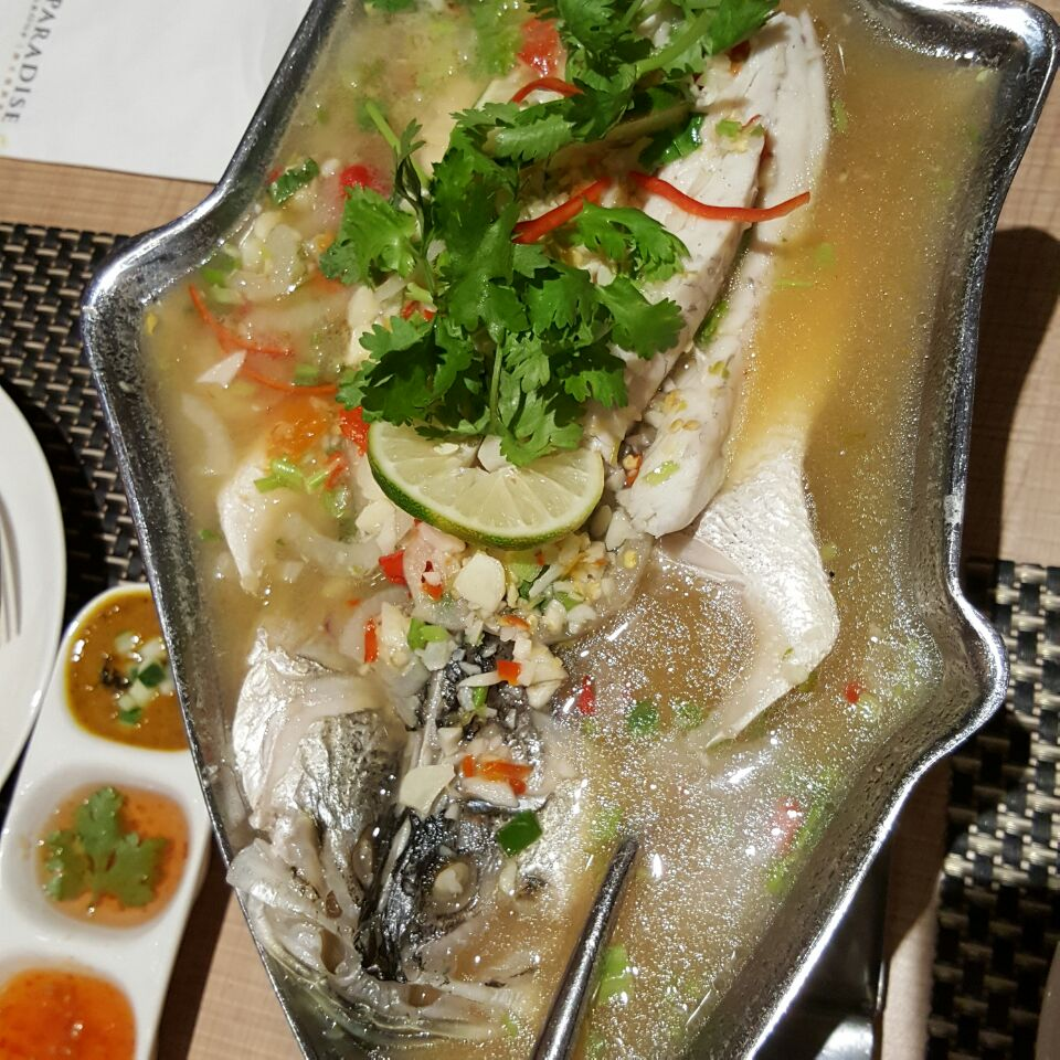 Sea Bass W/ Lime & Chilli