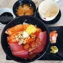 Can there be a tuna and salmon sashimi bowl for $15 nett in CBD?