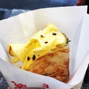 Craving for the scallion pancakes at Yong Kang Street!