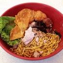 XO Minced meat noodles