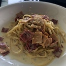Turkey And Ham Carbonara