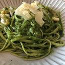 Pesto Prawn Pasta