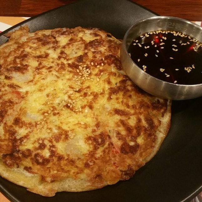 Kimchi Cheese Pancake ($12.90)
