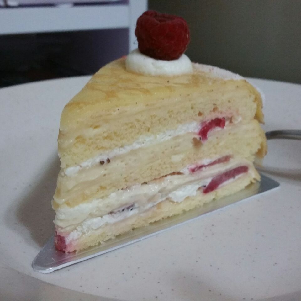 Strawberry Crepe Cake $8.50