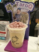 $4.10 Milk Tea with taro pearls