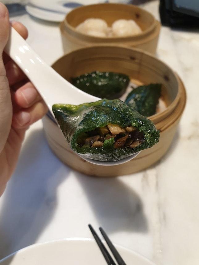 Truffle Mushroom Dumplings