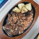 Black Pepper Chicken Hot Plate