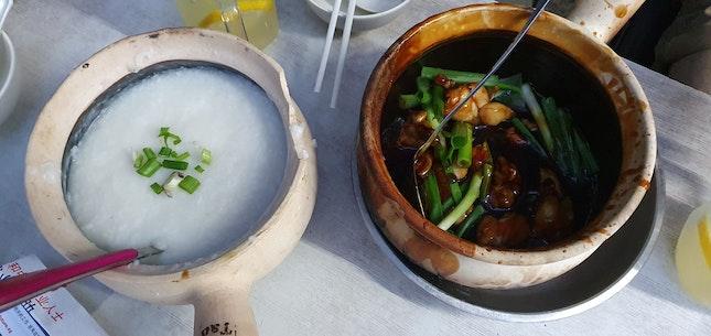 Frog Meat Porridge