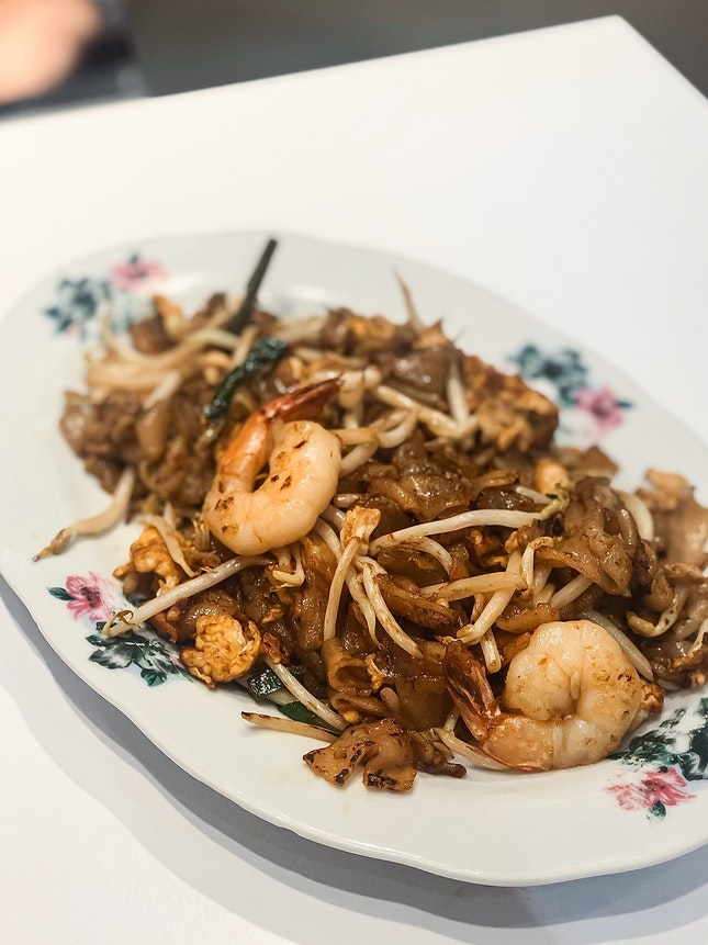 Fried Delights stall — Penang Yong Kee Fried Kway Teow (with no cockles, Small $5 & Large $8)