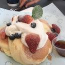 Fluffy Japanese Style Pancake
