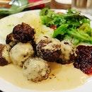 Got my Swedish meatballs fix at Fika!