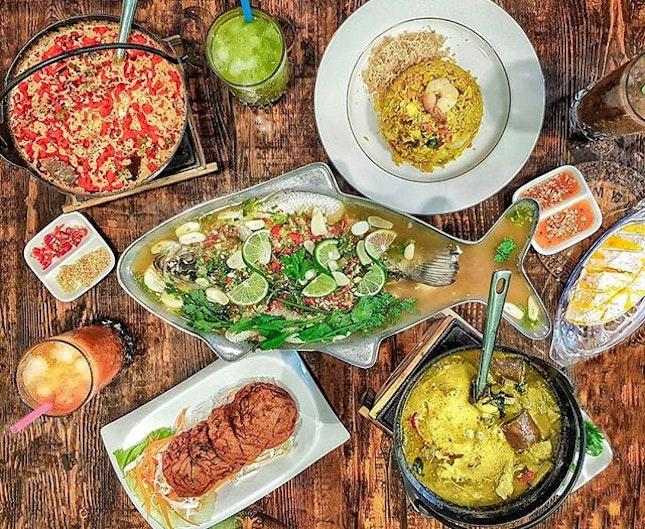 Thai Cravings satisfied at @jjthaipremiumsg!!!