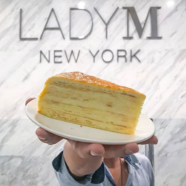 Dessert Time with LadyM's Signature Mille Crepes.