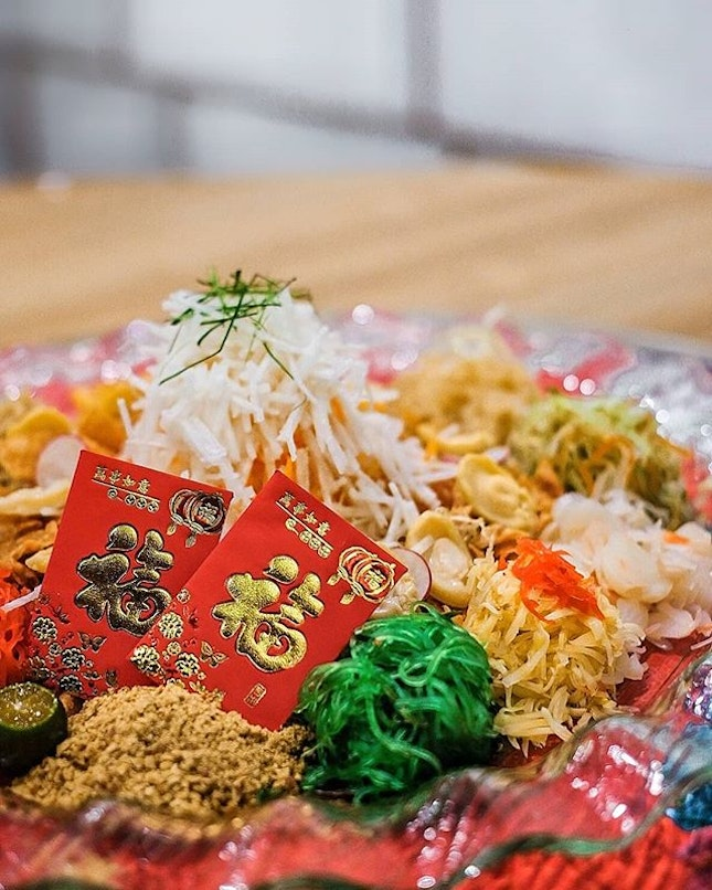 Having a Chinese New Year Feast with @crystaljadesg Fortune Set Menu at @greatworldcitysg.