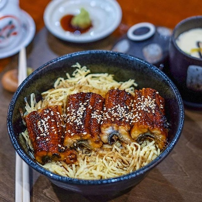 Discovering comfort food in the form of a perfectly charred and delicious bowl of Unagi-Don.