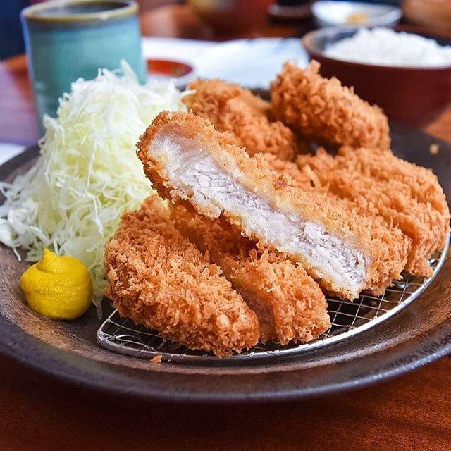 Probably the best tonkatsu I've had and it's from Tonkichi!