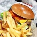 Original thickburger from @carlsjrsingapore !