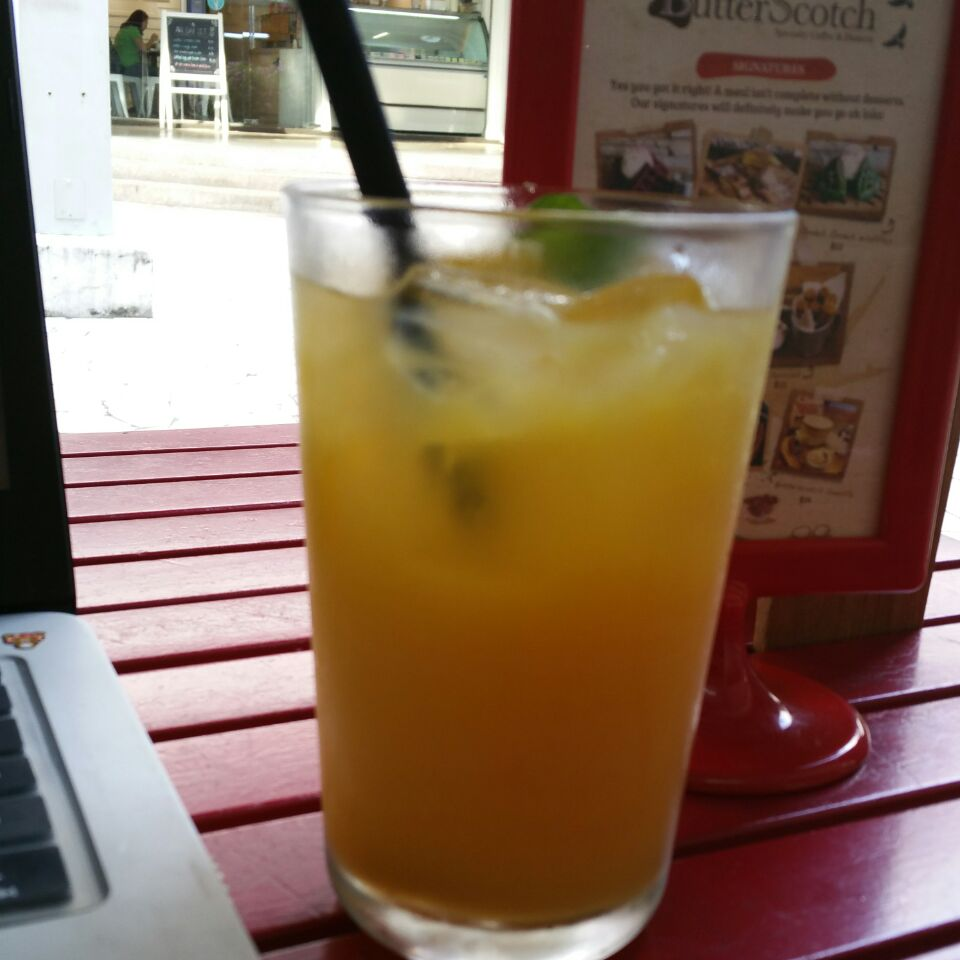 Orange Juice And Mint