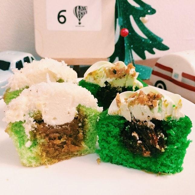 Onde-onde and Nasi Lemak cupcakes.