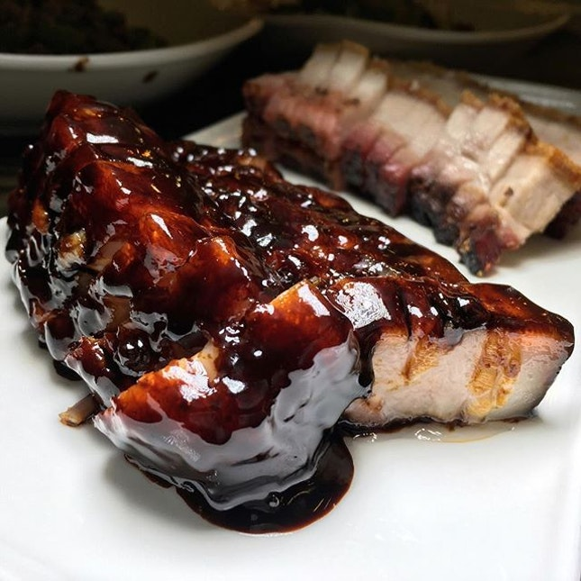 Special Char Siew from the newly-opened outlet of Char Restaurant along Jalan Besar.