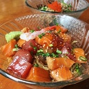 Barachirashi Spicy Dry Ramen from WTF Coffeehouse and Bar.