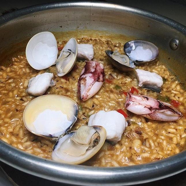 Seafood paella from Gaig Singapore along Stanley Street (Tanjong Pagar, Telok Ayer).