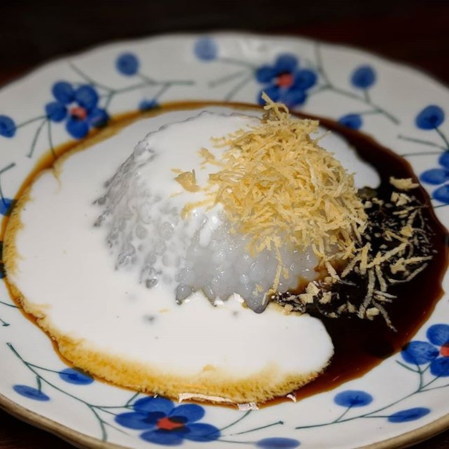 The Early Fatback: Sago Pudding from I Want My Noodle (@iwantmynoodle).
