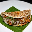 The Early Fatback: Mackerel Dosai, Tomato Chutney from Thevar (@thevar.sg).
