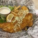 Fish and Chips #fishandchips #manhattenfishmarket #burpplesg #burpple #dhobyghaut #plazasingapura