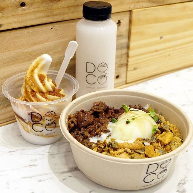For Rice Bowls and Coconut Softserve