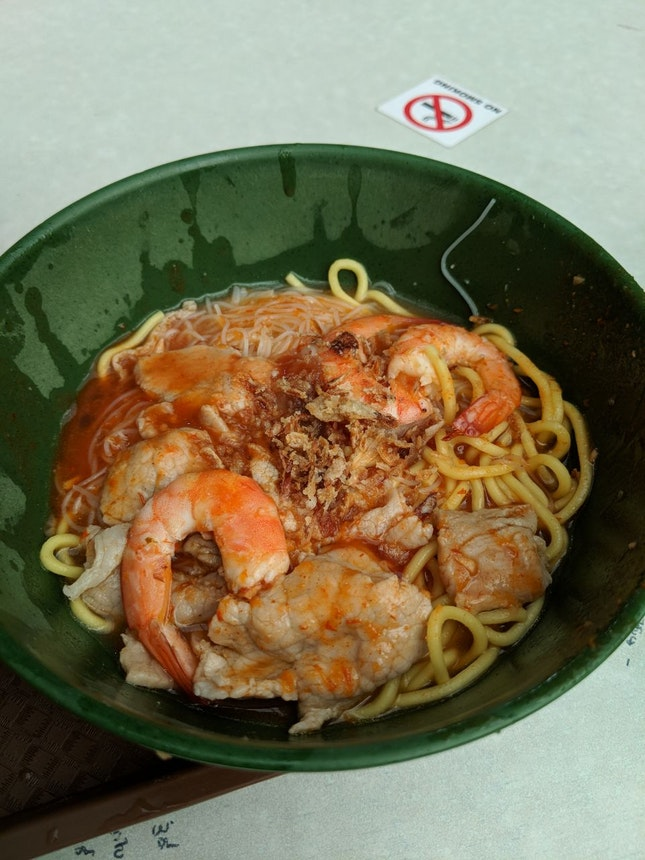 Amoy St Boon Kee Prawn noodle dry