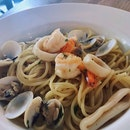 Seafood Spaghetti 1-for-1 Menu ($18)