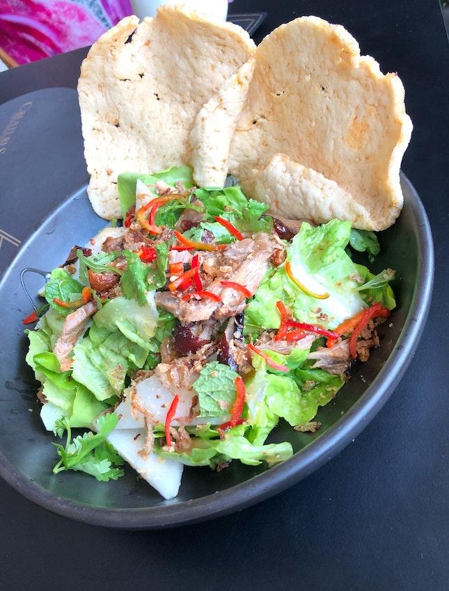 Roasted Duck & Pear Salad